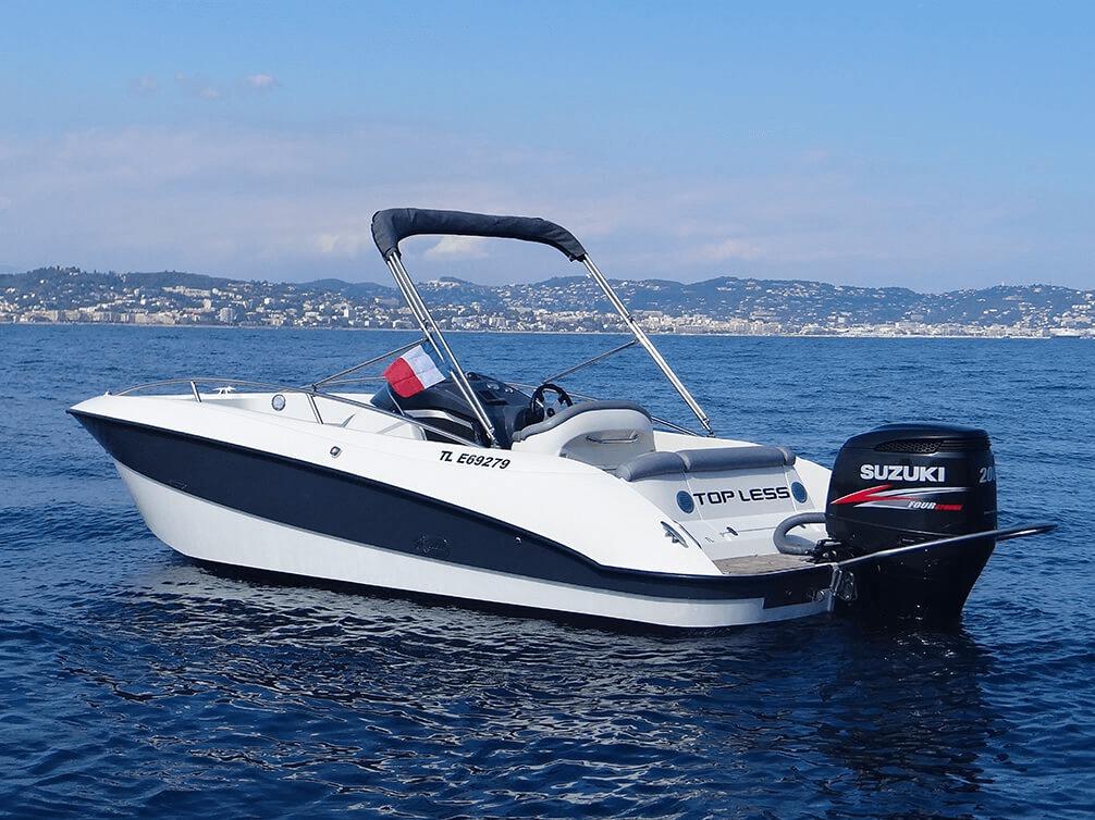 Photo du bateau à moteur CLEAR Aquarius Open