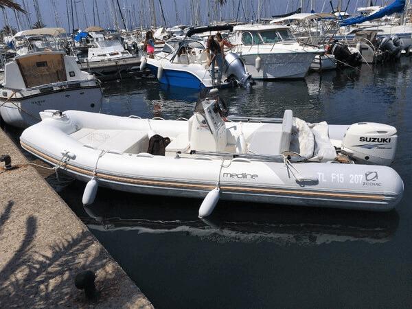 Photo du bateau à moteur ZODIAC Medline 500
